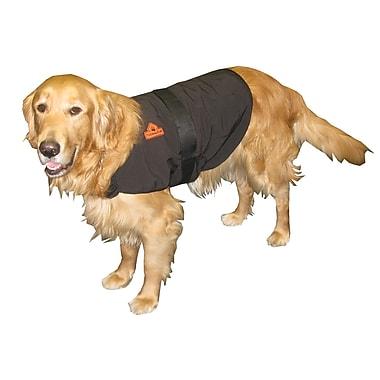 TechNiche – Manteau chauffant pour chien Thermafur activé par air, noir, petit (9529 BK S)