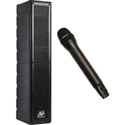 Amplivox Line Array Amplified Speaker with Wireless Microphone
