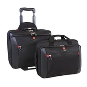 Swiss Gear 2 in 1 Deluxe Business Traveler with removable portfolio, Black (SWA0990)