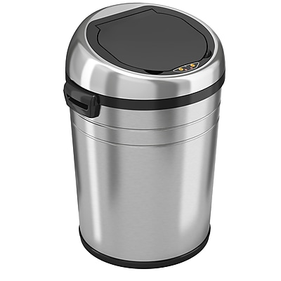 iTouchless Fully Automatic Stainless Steel Touchless Trash Can® NX 18 gal.