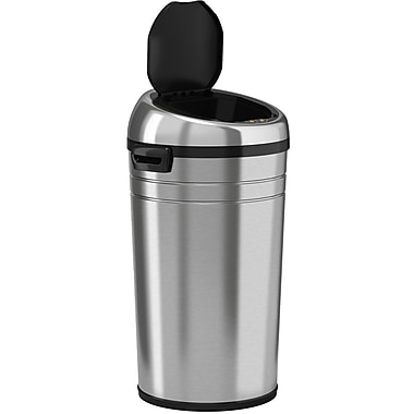 iTouchless Fully Automatic Stainless Steel Touchless Trash Cans® NX, 23 Gallon