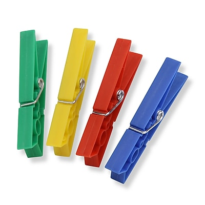 Honey Can Do Colored Plastic Clothespins, 200-Pack (DRYZ01411)