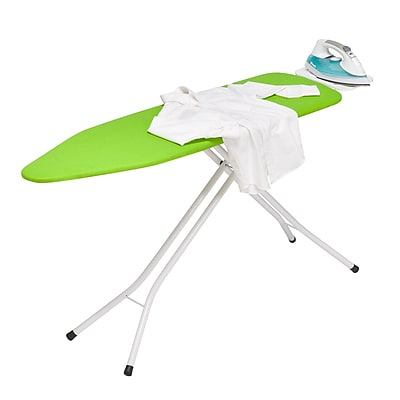 Honey Can Do Adjustable Stand-Up Ironing Board with Iron Rest (BRD-01405)