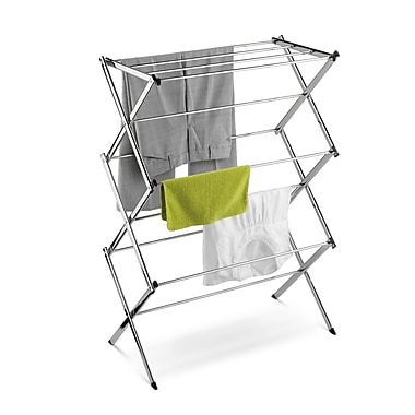 Honey Can Do Commercial Accordion Drying Rack, Chrome (DRY-01234)