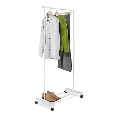 Honey Can Do Portable Garment Rack, White (GAR-01121)