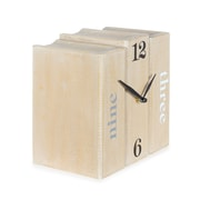 3 Books Table Clock (9044-AM5615-CK)