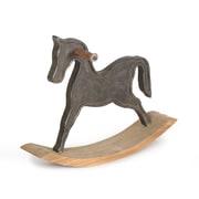 Black Rocking Horse Table Decor (7168-AM5326-00)