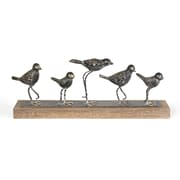 Five Birds On Stand Table Decor (7168-AM5327-00)