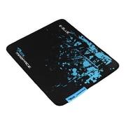 E-Blue - Tapis de souris de jeu Mazer, petit, noir/bleu