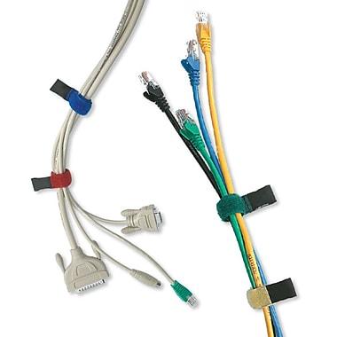 BlueDiamond - Attaches pour câbles à fermeture autoaggripante, 5/paquet