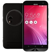 Asus Zenfone Zoom 5.5-inch Unlocked Cell Phone, 128 GB, 2.5 GHz Intel Atom Quad Core Z3590, Android 5.0, Black (ZX551ML)