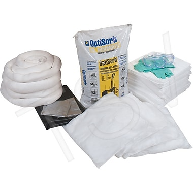 Zenith Safety 63-Gallon Replacement Kits - Oil Only, 100 Sorbent Pads (15