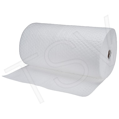 Zenith Safety Fine Fibre Sorbent Rolls - Industrial Grade, Oil Only, Heavy