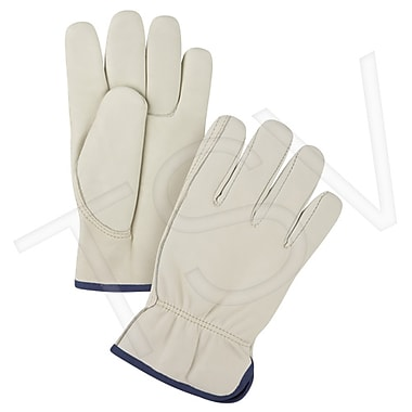 Zenith Safety Grain Cowhide Fleece Lined Drivers Gloves, Premium, X-Large