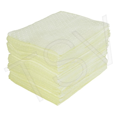 Zenith Safety Laminated (SMS) Sorbent Pads - Hazmat, Heavy