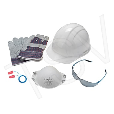 Zenith Safety Worker Starter Kit, CSA Type 1, White