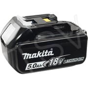Makita BL1850 18V Battery, 18 V, 5.0 A, Lithium-Ion (196675-2)