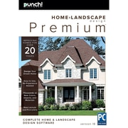 Encore – Logiciel Punch! Home & Landscape Design Premium v18 aménagement intérieur et paysager, Windows, anglais