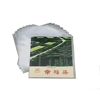 Wamaco Vinyl Record Outside Sleeves, 2 mil (14-9010)