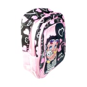 Betty Boop Backpack, Black/Pink (BBBP-001)