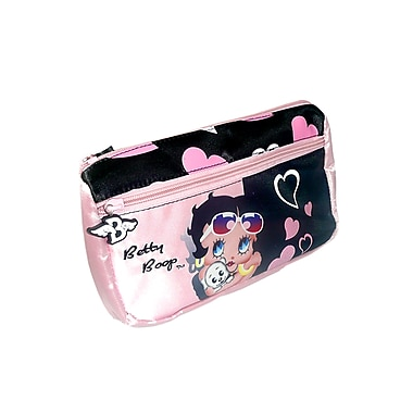 Betty Boop Pencil Case, Black/Pink (BBPC-001)
