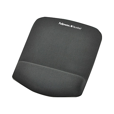 Fellowes – Tapis de souris PlushTouch, graphite (FLW9252201)
