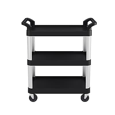 Suncast Commercial Three Shelf Service Cart, 20