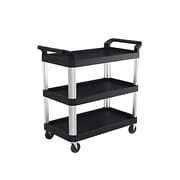 "Suncast Commercial Three Shelf Service Cart, 20"" x 40"" (RC2040)"