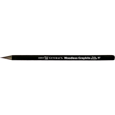 General Pencil® All-Art® Woodless 2B Graphite Pencil
