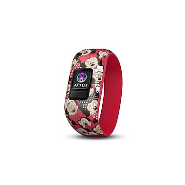 Garmin – Moniteur d'activité Vivofit® Jr. 2 étirable, Disney Minnie Mouse (010-01909-00)