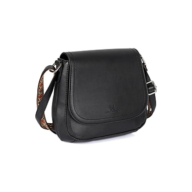 Karla Hanson® Isabella Women's Crossbody Bag, Black (72105BLK)