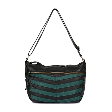 Karla Hanson® Avery Women's Crossbody Wash Bag, Forest Green (73003GREEN)