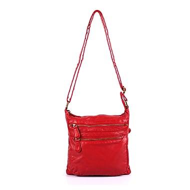 Karla Hanson® Charlotte Women's Crossbody Wash Bag, Red (50704RED)
