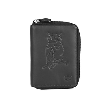RFID Protection Canada Wild™ Women's Bifold Wallet, Owl