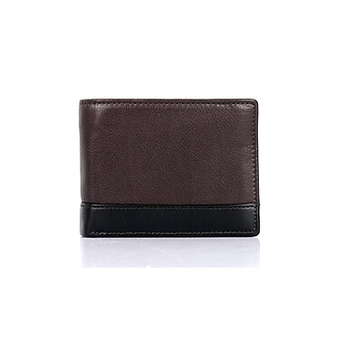 RFID Protection Karl Hanson Men's Prestige Bifold Wallet, Espresso (23033ESPRESSO)