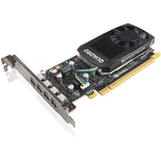 Lenovo Quadro P600 Graphic Card, 2 GB GDDR5 (4X60N86659)