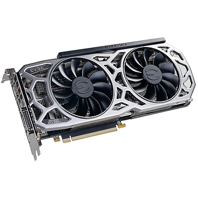 EVGA GeForce GTX 1080 Ti Graphic Card, 1.48 GHz Core, 1.58 GHz Boost Clock, 11 GB GDDR5X, Dual Slot Space Required