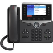 Cisco 8851 IP Phone, Cable, Wall Mountable, Desktop (CP-8851-3PW-NA-K9=)