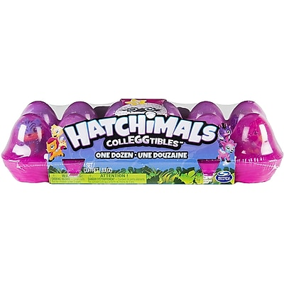 Spin Master Hatchimal Colleggtibles 12 Pack Egg Carton IM12CL761