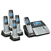 VTech 2 Line 5 handset Cordless Bundle with (1) DS6151 Phone system and (4) DS6101 Handsets