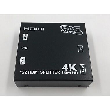 SAE – Répartiteur HDMI 2 ports 4K (HDMI-SP102)