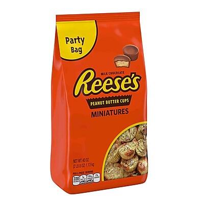 Reese's® Peanut Butter Cup Miniatures Party Bag, 40 oz. Bag