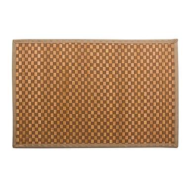 CTG Bamboo Floor Mat, Beige (66467DF)