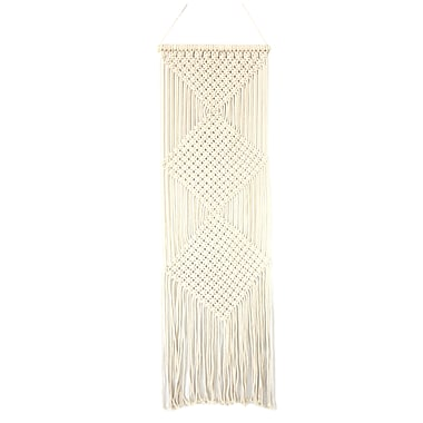 CTG Macrame Wall Hanging Decor, Cream (66553DF)