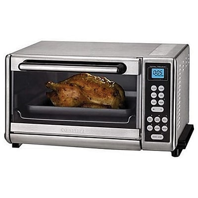 Cuisinart® Refurbished Toaster Oven Broiler with Convection , Silver (CTO-140PCFR)