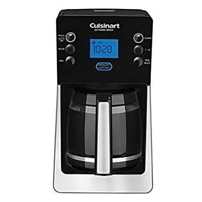 Cuisinart® Perfect Brew DCC-2850FR 12 Cup Refurbished Coffee Maker, Black/Silver