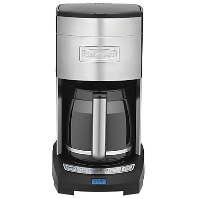 Cuisinart Extreme Brew 12 Cup Refurbished Programmable Coffeemaker, Silver/Black (DCC-3650FR) IM19J4407