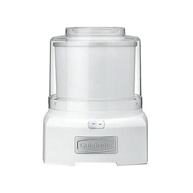 Cuisinart® Frozen 1.5 qt Refurbished Yogurt/Ice Cream Maker, White (ICE-21FR)