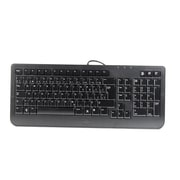 Dell™ Wired French Canadian Slim Refurbished Keyboard, Black (SK-8185)