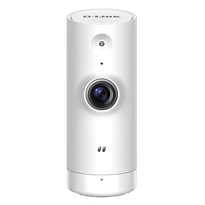 D-Link® DCS-8000LH Wireless Indoor Network Camera, White